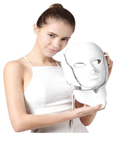 led maske hud